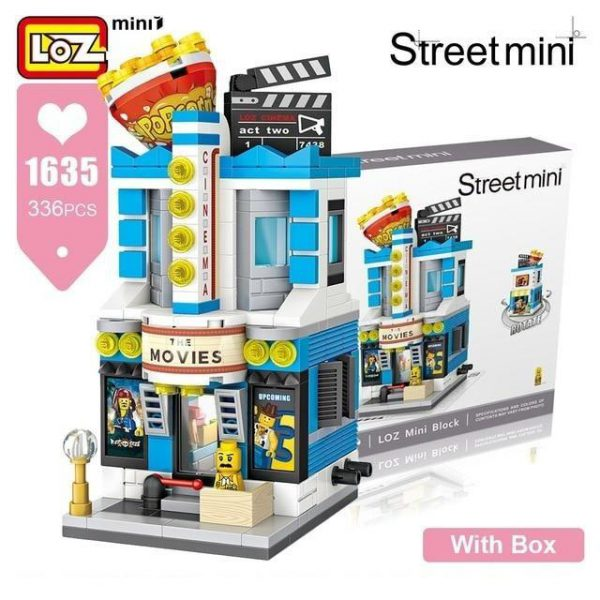LOZ Mini Bricks Gaming Room Candy Shop Toy Store Official LOZ BLOCKS STORE