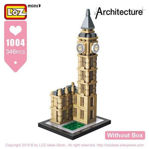 LOZ Mini Blocks Architecture Model Official LOZ BLOCKS STORE