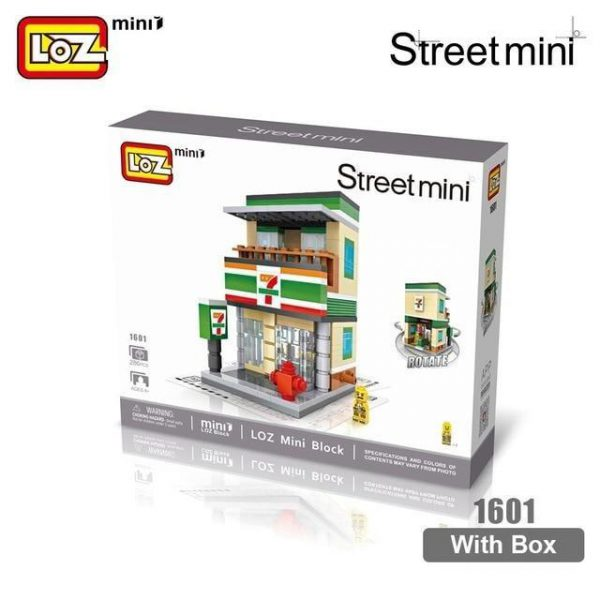 LOZ Mini Blocks City Mini Street Official LOZ BLOCKS STORE