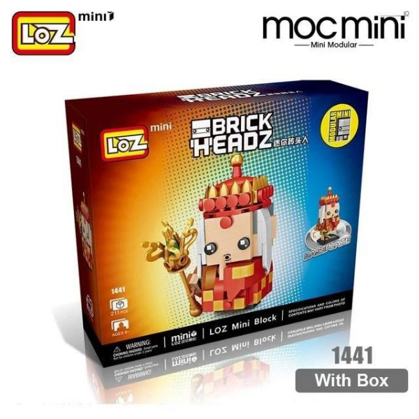 LOZ Mini Blocks Monkey King Figure The Journey To The West Official LOZ BLOCKS STORE