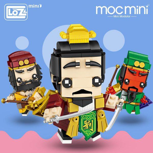 LOZ Mini Blocks General of Ancient China Official LOZ BLOCKS STORE