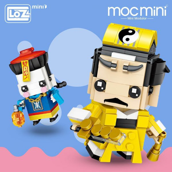 LOZ Mini Blocks Chinese Zombie Jiang Shi Official LOZ BLOCKS STORE