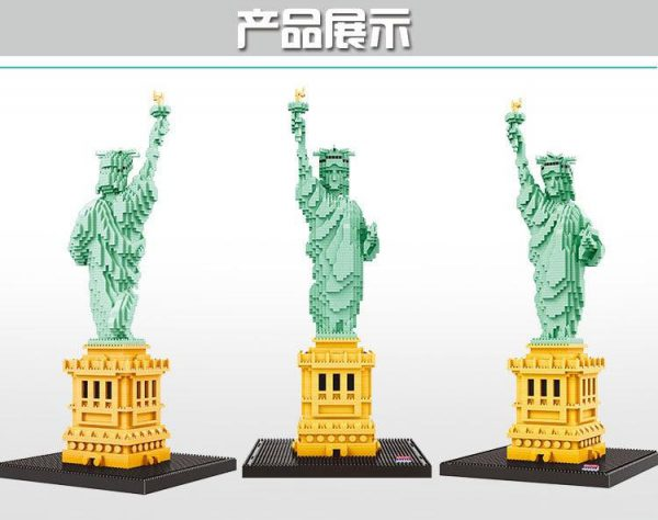 Balody Statue of Liberty National Monument World Architecture Official LOZ BLOCKS STORE